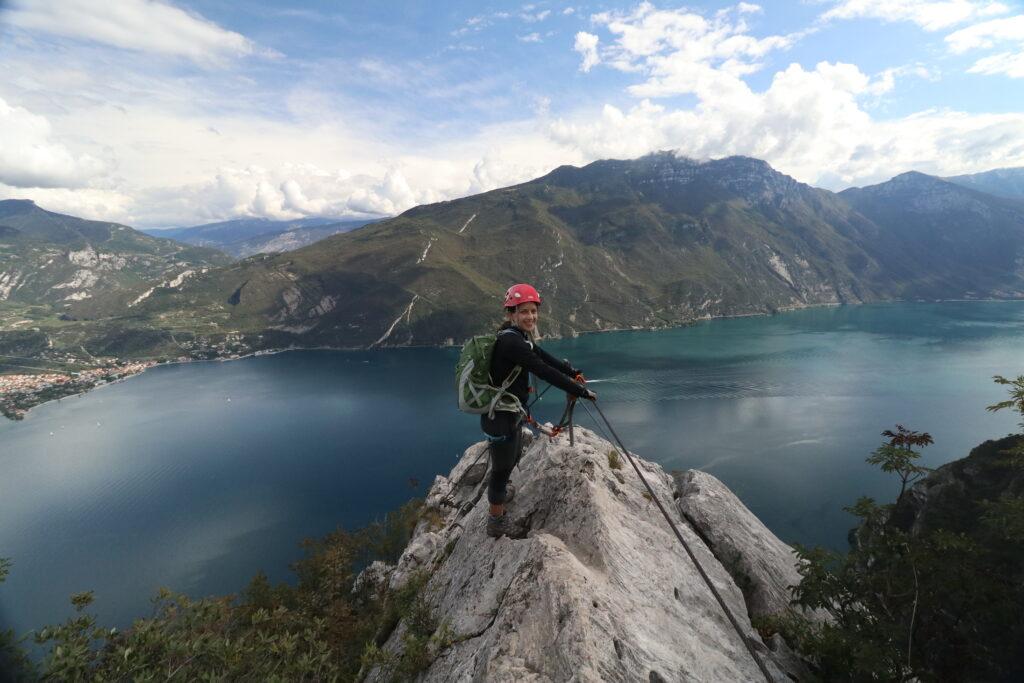 Discover via ferratas near Riva del Garda