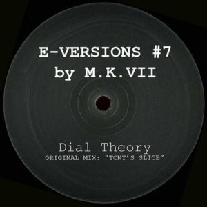 M.K. VII – Dial Theory (Tony's Slice) [HO-- USE] 1990s New York House Artwork