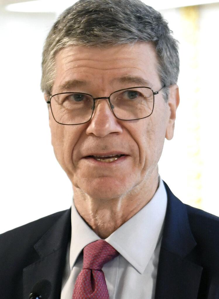 Boris Mints Prize 2017 Winner Jeffrey Sachs