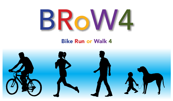 Bike Run or Walk with or without a 4-legged Friend