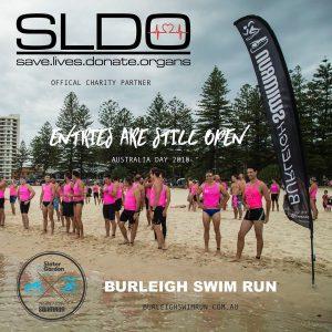 Burleigh Swim Run Australia Day Challenge