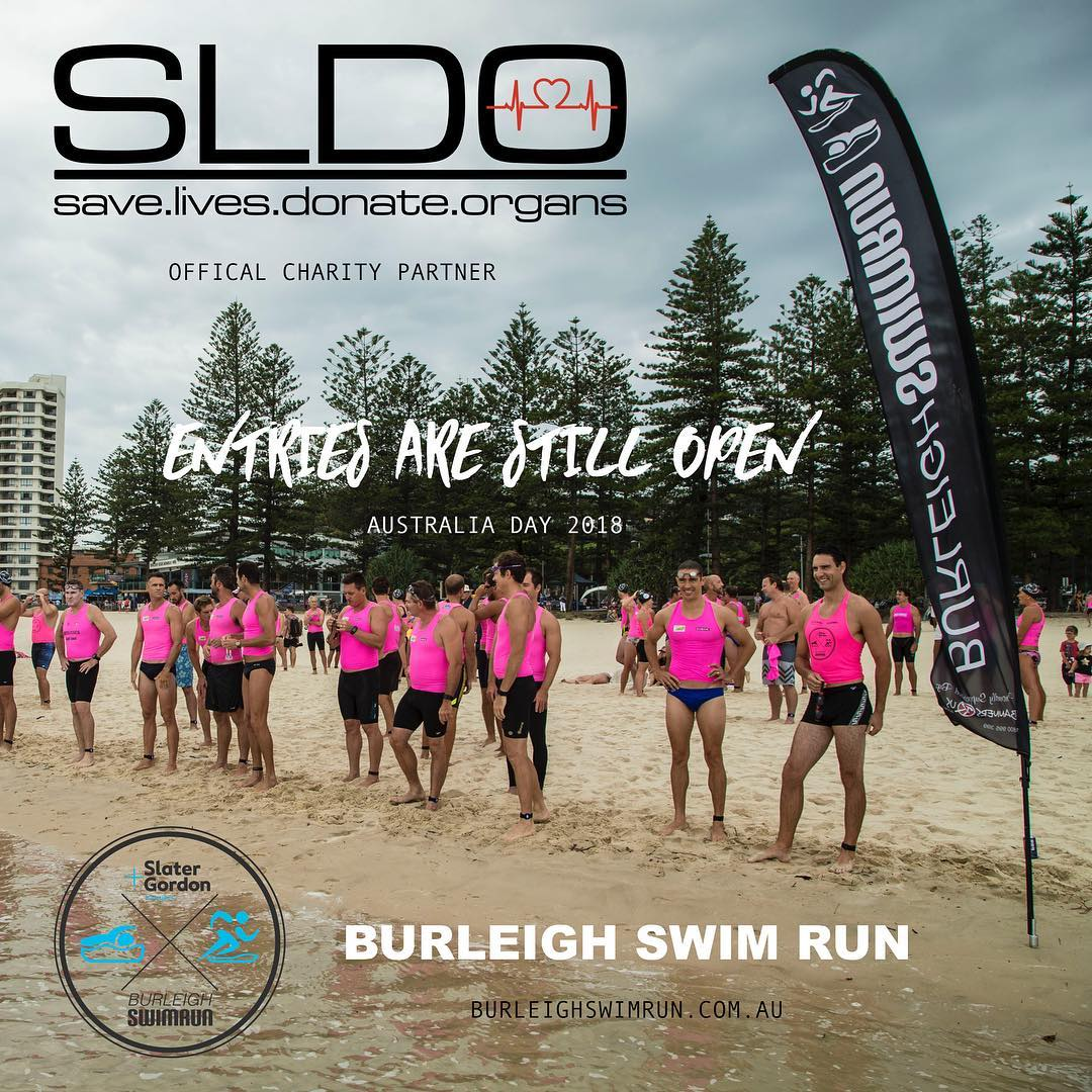 Burleigh Swim Run Australia Day Challenge