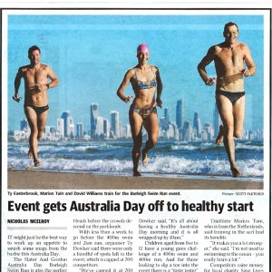 Event gets Australia Day-off to healthy start