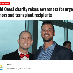 My GC: Gold Coast charity raises awareness for organ donors and transplant recipients