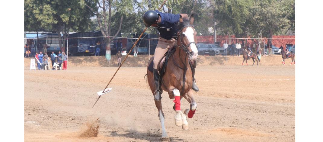 तीन दिवसीय रीजनल घुड़सवारी चौंपियनशिप की तैयारियां अंतिम चरण में : 100 घुड़सवार होंगे शामिल