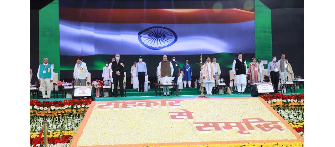 आज़ादी के 75 सालों के बाद प्रधानमंत्री मोदी ने स्वतंत्र सहकारिता मंत्रालय बनाया : अमित शाह