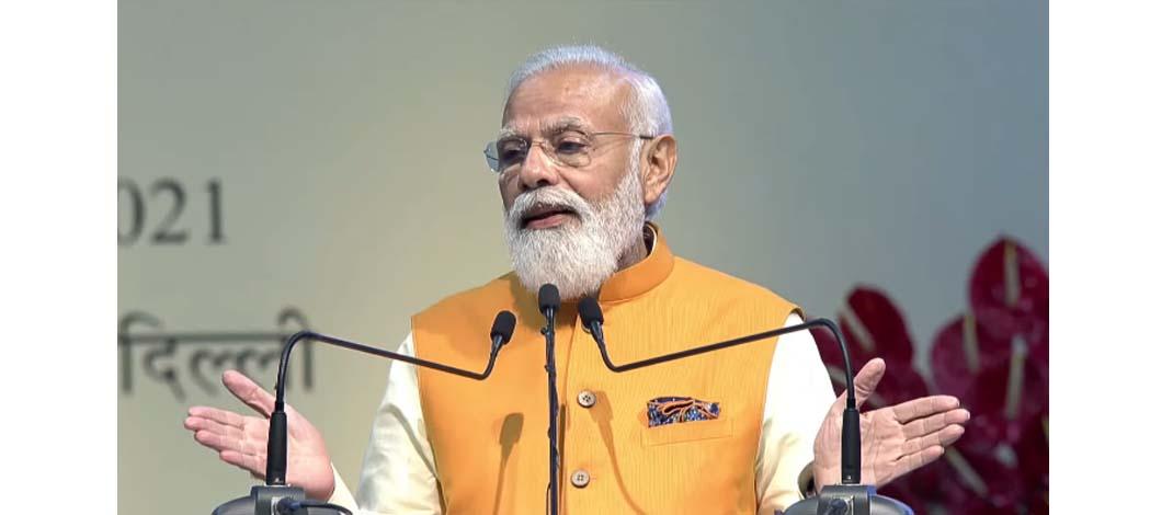आत्मनिर्भर भारत के संकल्प के साथ हम, अगले 25 वर्षों के भारत की बुनियाद रच रहे हैं : प्रधानमंत्री