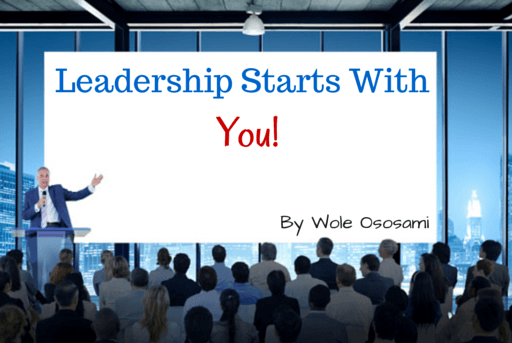 Leadership Starts With You!