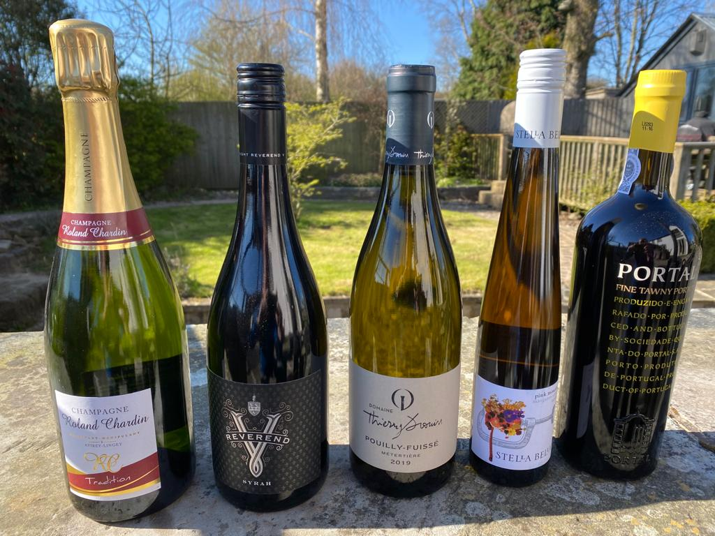 May Wine Flight