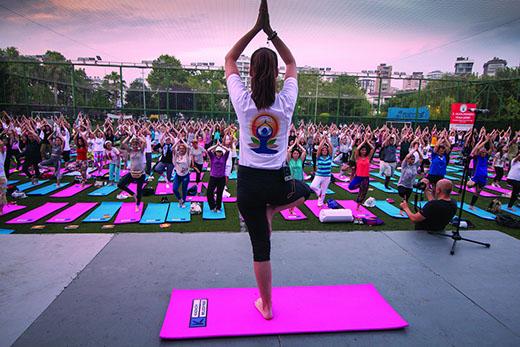 Uluslararası  Yoga Günü 2019