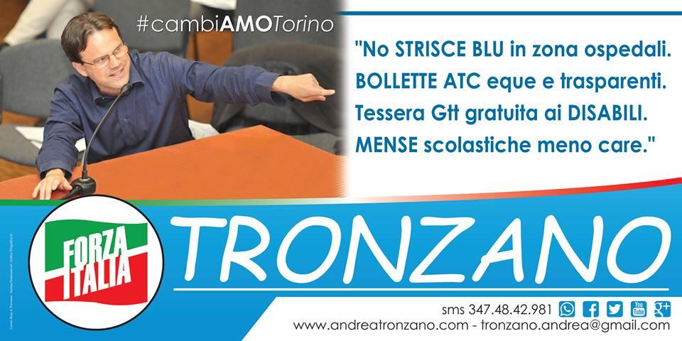 Manifesto Strisce blu