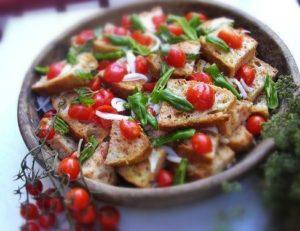 Tuscan salad panzanella