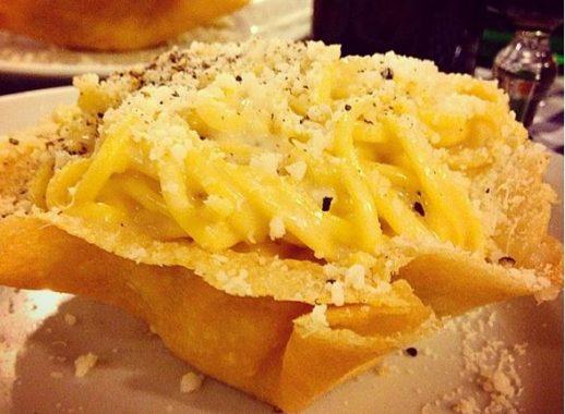 parmesan cheese pasta basket