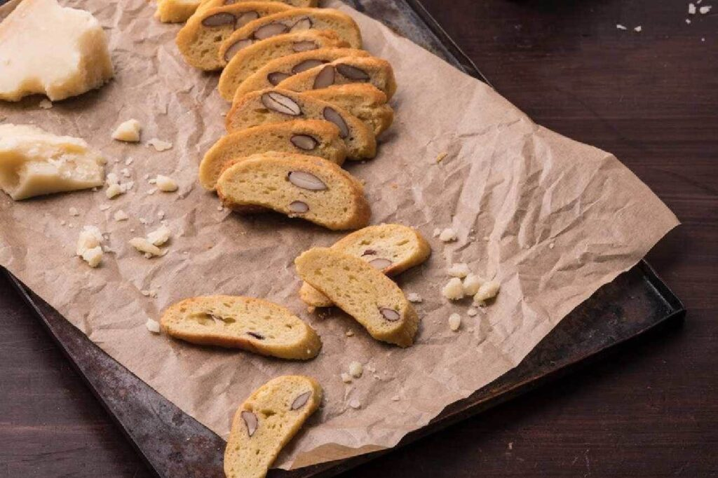 cheese and almond biscotti