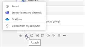 share files using teams