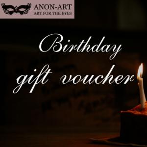 birthday Gift Voucher – £50