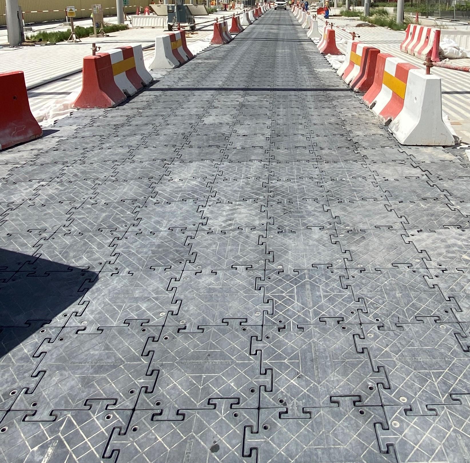 Temporary road