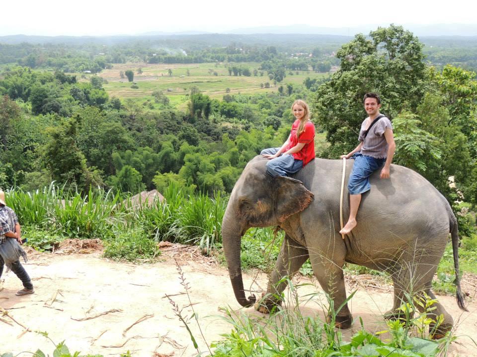 Elephant Rescue Camp, Chiang Mai, Thailand