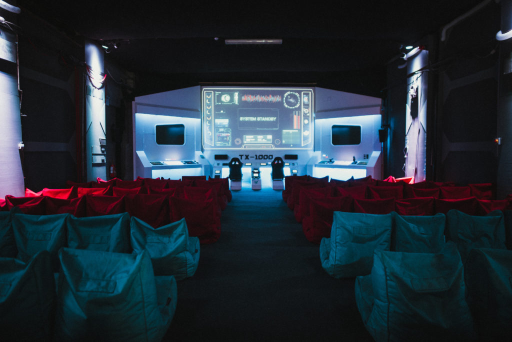 Backyard Cinema's Mission to Mars: Launch Event