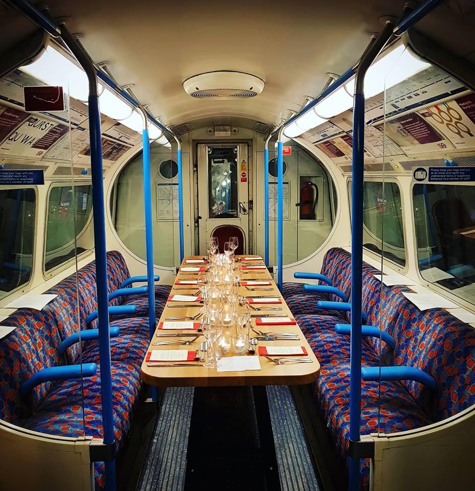 Dine on the Victoria Line