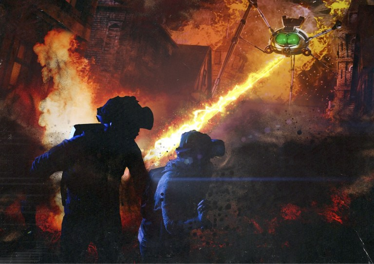 Experience The War of the Worlds LIVE