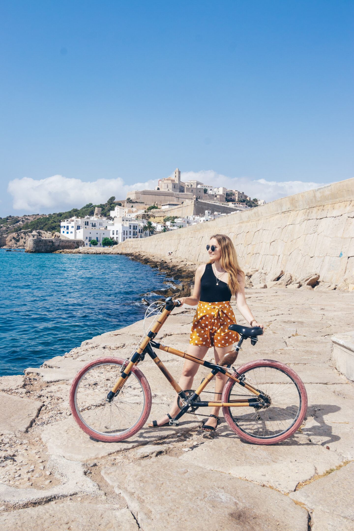 Explore the history of Ibiza by bicycle