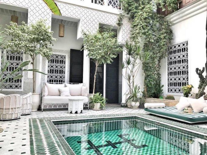 Staying at Riad Yasmine, Marrakech