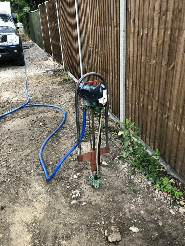 Soil injection with the terravent
