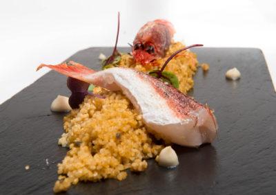 Cous-Cous con Pesce e Crostacei