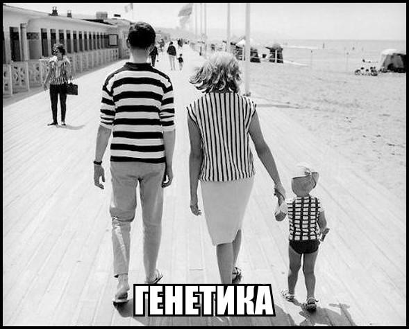Мем про генетику