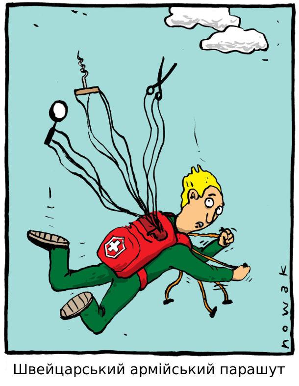 Швейцарський армійський парашут