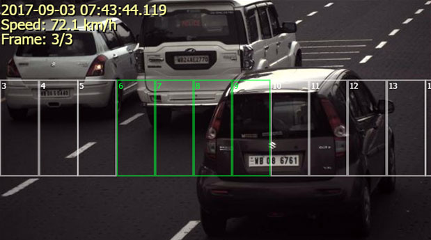 16 channel speed camera capture