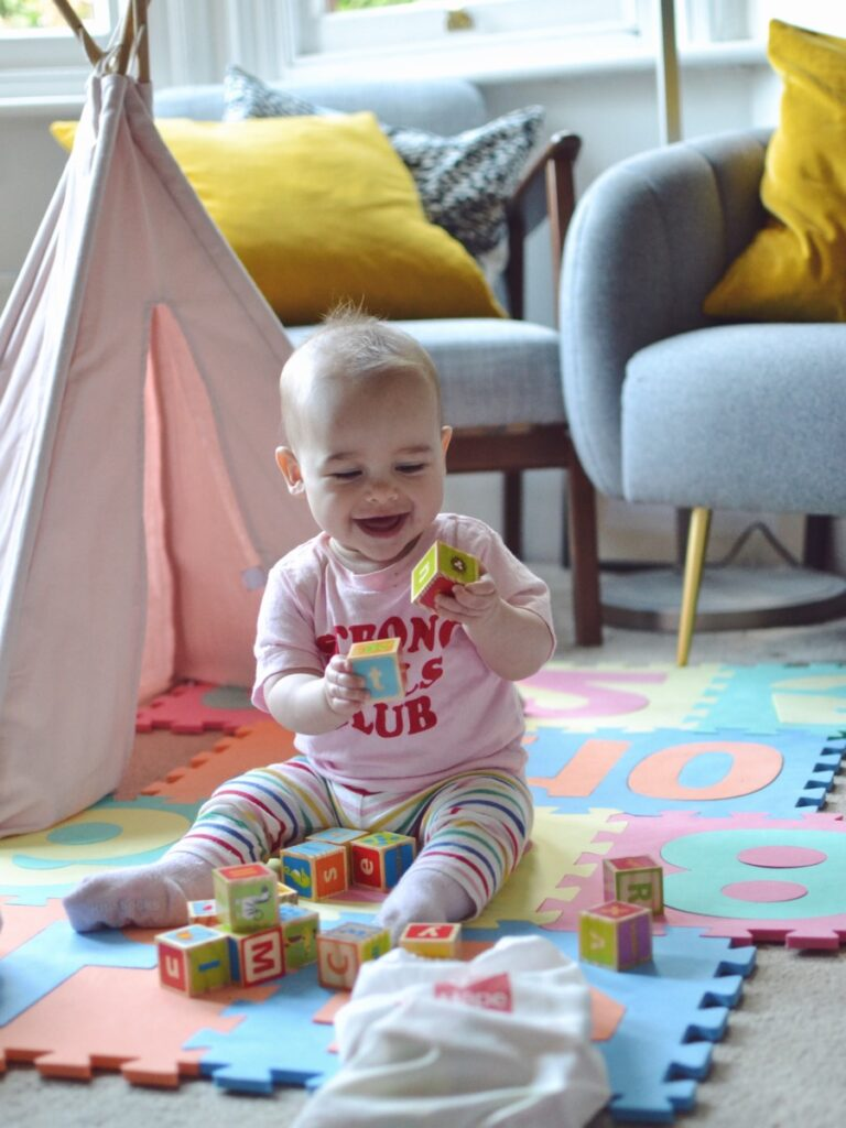 Best baby toys for babies aged 6 months and beyond, we love our ABC blocks!