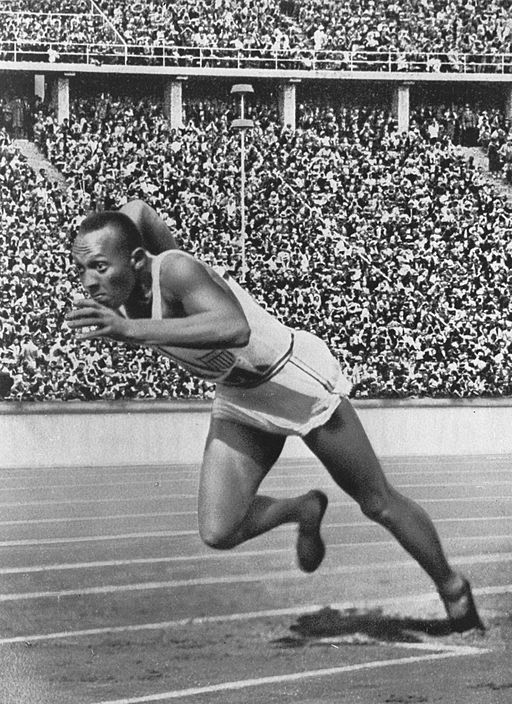 Jesse Owens and Adolf Hitler
