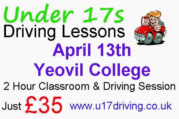 Under 17s Driving Lessons Yeovil