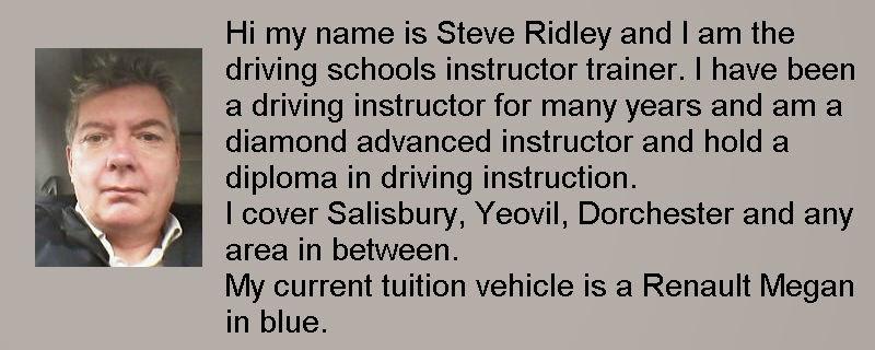 Happy 51st Birthday to Steve Ridley of Gillingham Dorset