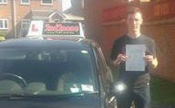 Another 1st time driving test pass