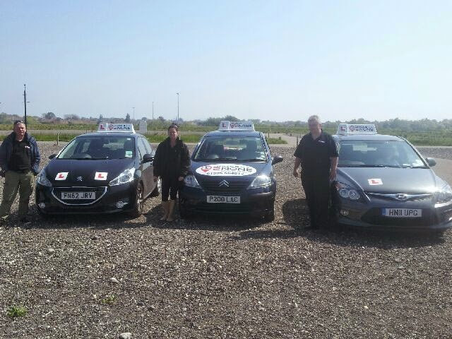 Our First Under 17s Driving Session at Weymouth Park & Ride