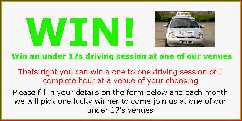 WIN A FREE Under 17s Driving Session Right Here