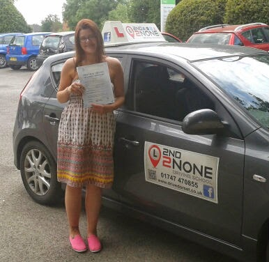 Another first time pass for Driving Lessons Shaftesbury