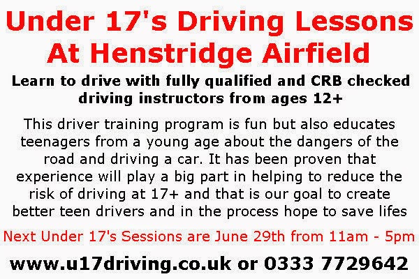 Under 17s Driving Lessons at Henstridge Airfield June 29th