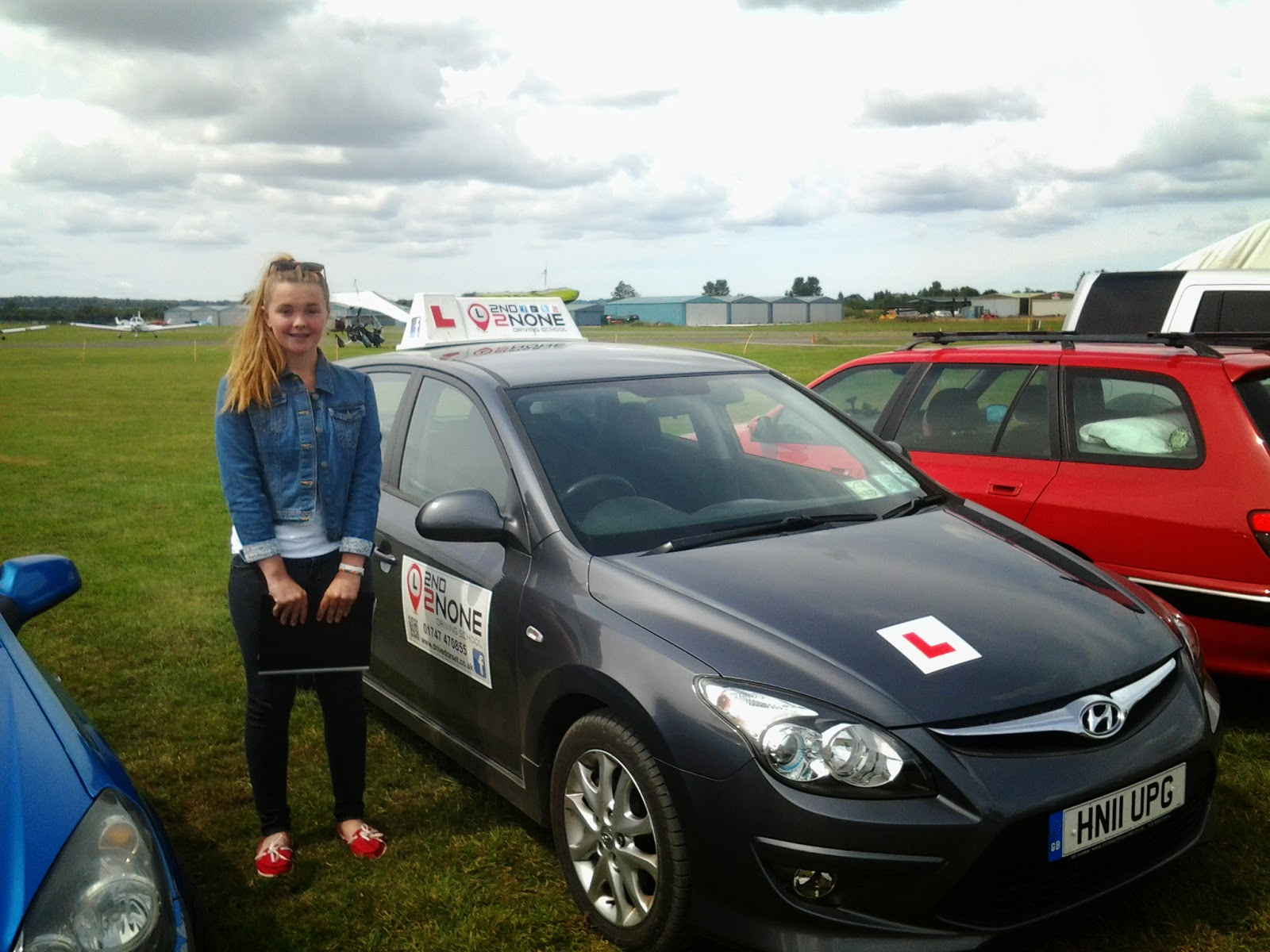 Another Great Under 17s Driving Session at Henstridge