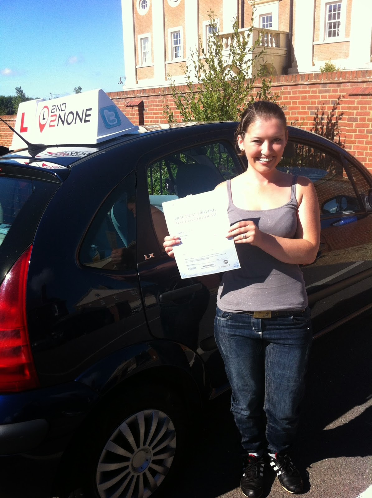 1st time pass for Driving Lessons Weymouth