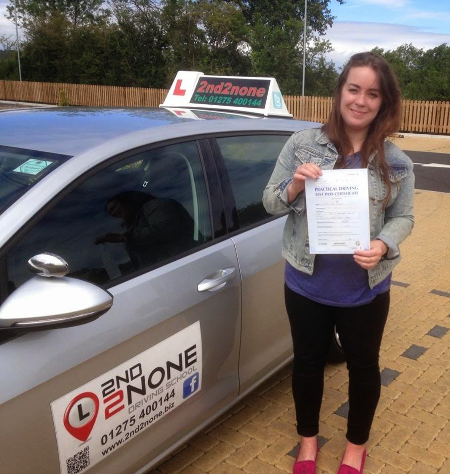Another 1st time pass for driving lessons Portishead