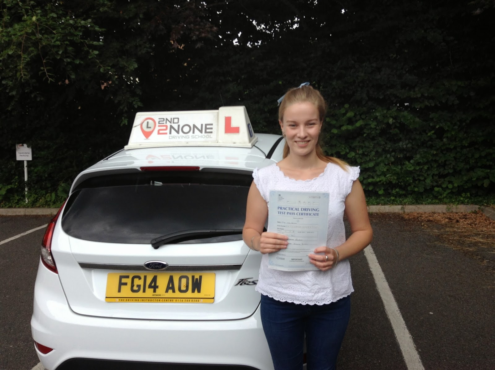 Another 1st time pass in Yeovil