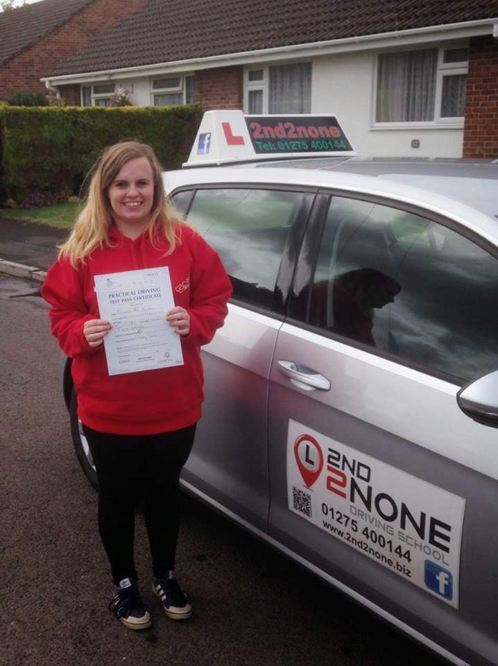 Driving lessons Nailsea has another successful driving test pass