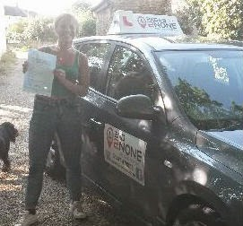 Driving Test Pass for Templecombe