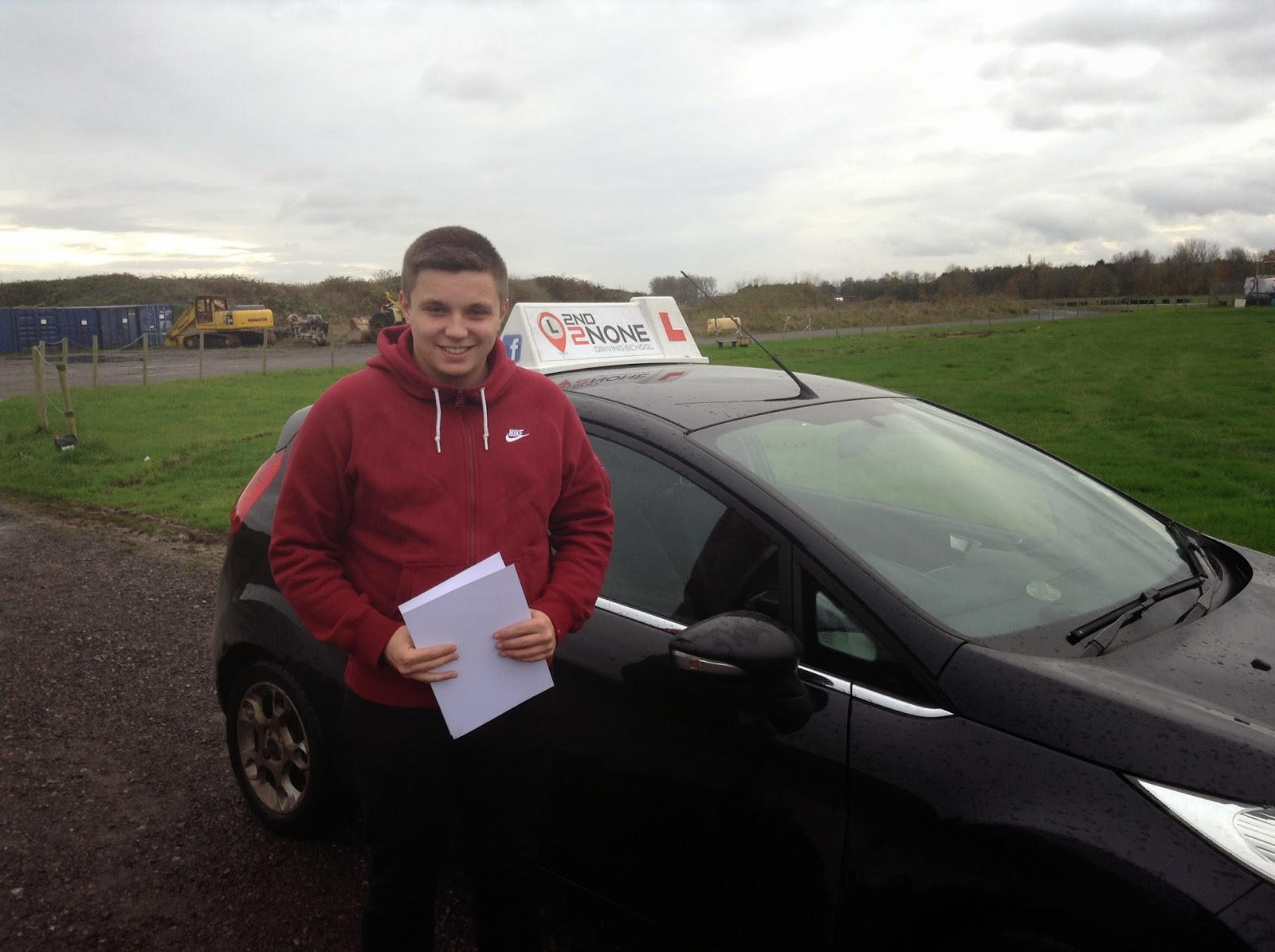Under 17s driving lessons at Henstridge Airfield