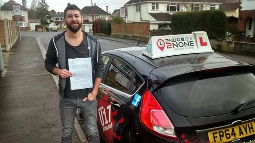 Driving Test Pass For Yeovil based Instructor Chris