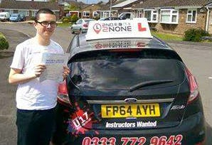 Driving Test Pass for Gillingham Dorset